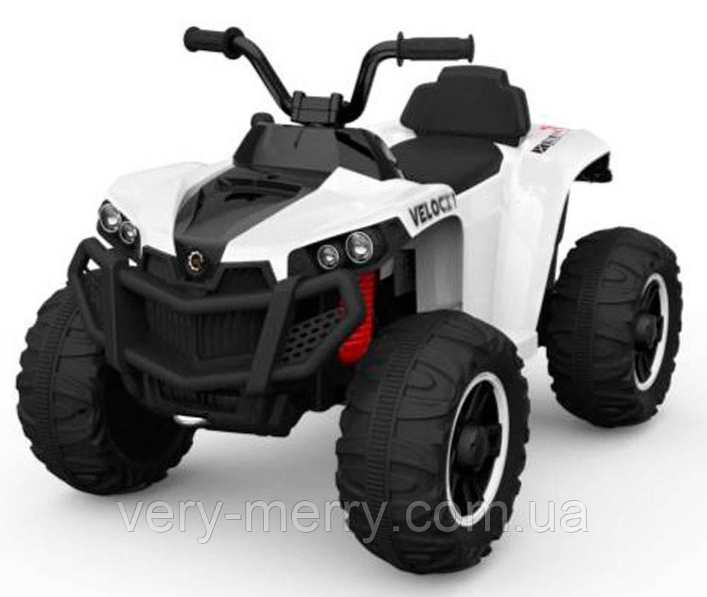 Детский электромобиль квадроцикл Joy Automatic BRP (белый цвет)