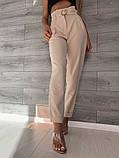 Светлые женские брюки 39-409, фото 2