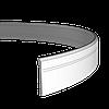 Плинтус напольный 1.53.103 гибкий, длина 2м, Европласт