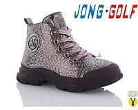 Ботинки демисезонные для девочек Jong Golf 30064-22 Размеры 31- 34,