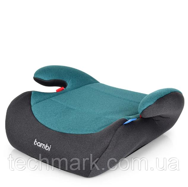 Автокресло - Бустер Bambi М2426 15-36 кг Turquoise Grey