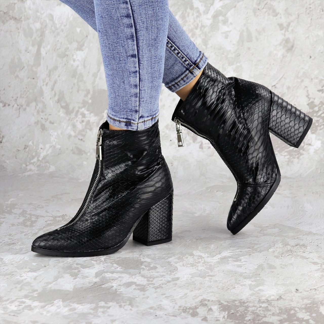 Черевики жіночі Fashion Timo 2144 36 розмір, 23,5 см Чорний