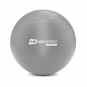 Фітбол, м'яч для фітнесу Hop-Sport 75cm HS-R075YB silver + насос, фото 2