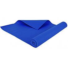 Фитнес коврик универсальный тренировочный, 3 mm blue