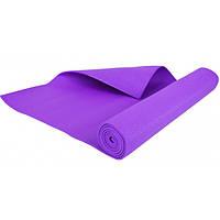 Фитнес коврик универсальный тренировочный, 5 mm violet
