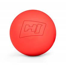 Масажний м'яч силіконовий 63 мм HS-S063MB red