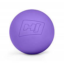 Масажний м'яч силіконовий 63 мм HS-S063MB violet