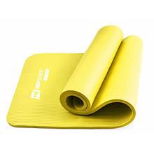 Фитнес коврик тренировочный HS-N015GM 1,5 см yellow