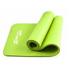 Фитнес коврик тренировочный HS-N015GM 1,5 см green