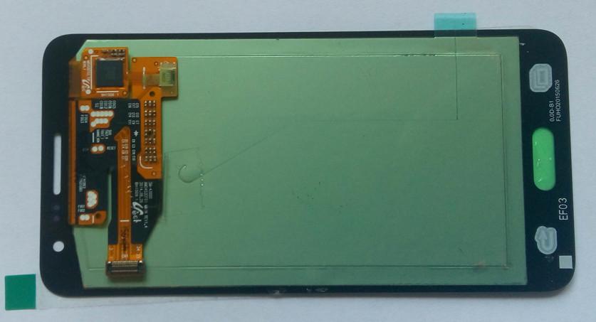 Дисплей модуль Samsung A300F Galaxy A3 в зборі з тачскріном, чорно-синій