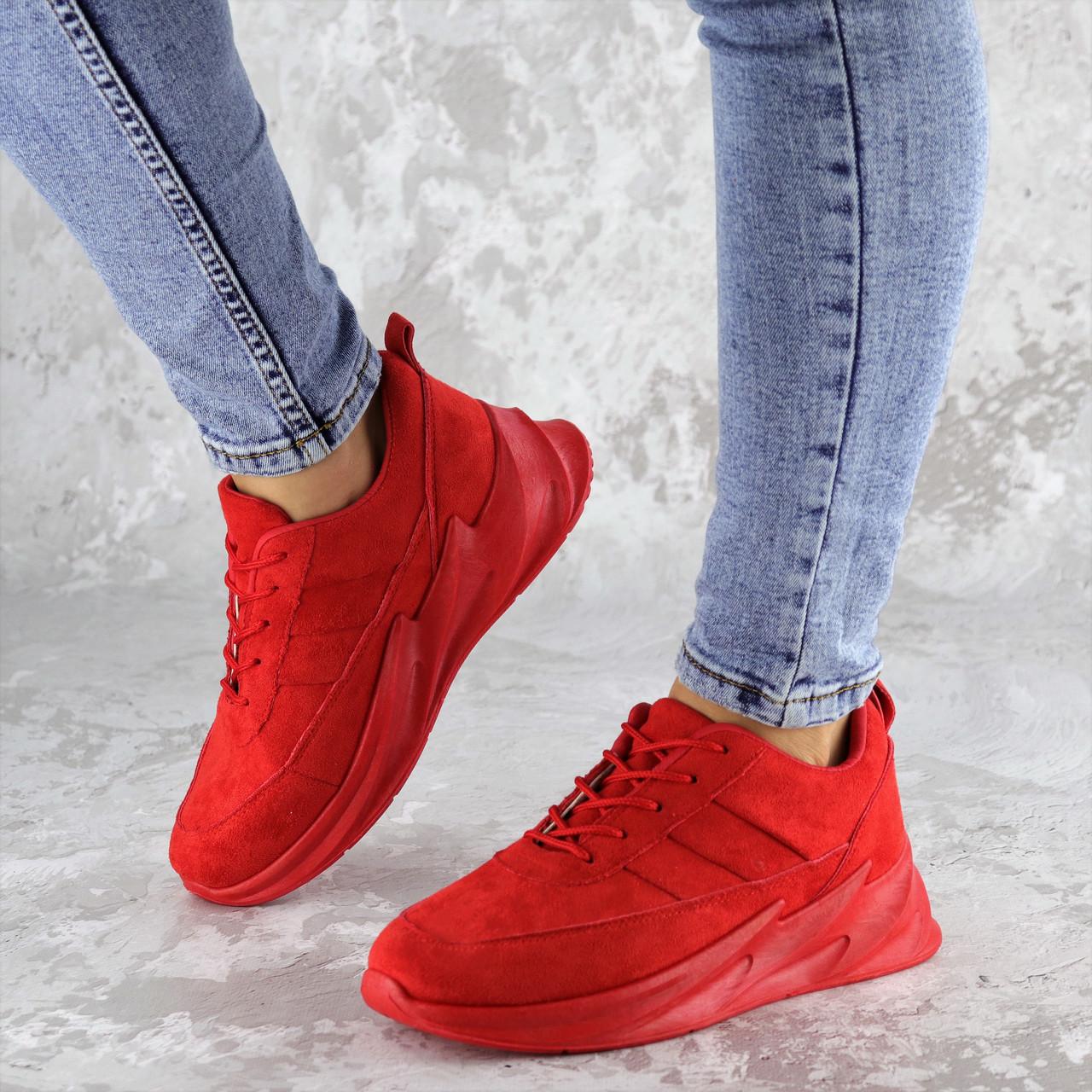 Кроссовки женские Fashion Robby 2148 36 размер 23 см Красный
