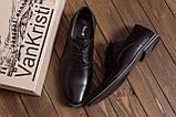 Чоловічі шкіряні туфлі класика VanKristi, фото 7