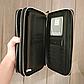 Чоловічий гаманець чорний клатч на блискавках код 254, фото 8