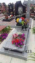Пам'ятники із хрестом на могилу для батька із граніту