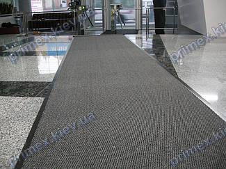 Грязезащитная дорожка на резиновой основе, цвет серый 90см. ширина