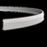 Плинтус напольный 1.53.106 гибкий, длина 2м, Европласт, фото 1