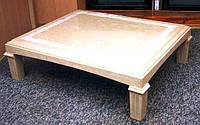 Журнальный стол из натурального камня, мрамор, Компания Babich Design, Полтава