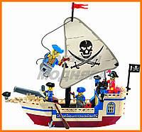 """Детский Конструктор """"Пиратский корабль"""" 188 деталей Brick"""