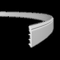 Плинтус напольный 1.53.110 гибкий, длина 2м, Европласт, фото 1