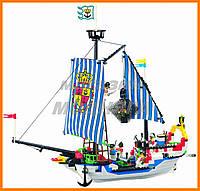 """Детский Конструктор """"Пиратский корабль"""" 310 деталей Brick"""