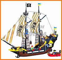 """Детский Конструктор """"Пиратский корабль"""" 510 деталей Brick"""