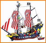 """Конструктор """"Пиратский корабль - Черная Жемчужина"""" 870 деталей Brick"""