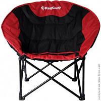 "Кресло складное KingCamp ""Moon Leisure Chair"", Красно-черное"