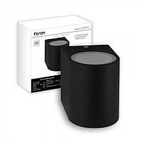 Фасадный светильник Feron DH014 (чёрный)