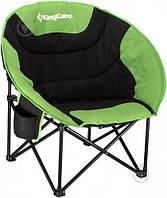 "Кресло складное KingCamp ""Moon Leisure Chair"", Black/Green"