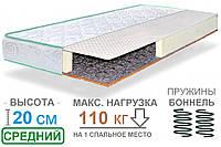 Ортопедический двуспальный матрас на пружинном блоке Боннель Faino SVIT / Файно СВИТ жаккард 160x200