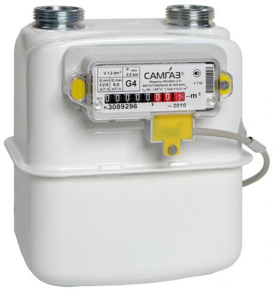 Счетчик газа Самгаз G 1,6 - Магазин отопления и водоснабжения Сантехбуд в Киевской области