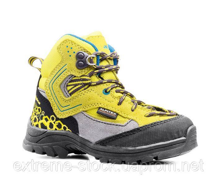 Ботинки Alpina MOON желтый 34