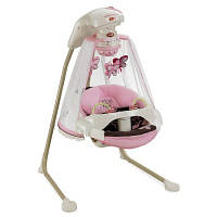 """Укачивающий центр или люлька для новорожденных  Fisher-Price """"Бабочка Мокко"""" с проектором, фото 1"""