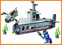 """Конструктор """"Подводная лодка"""" 382 детали Brick"""