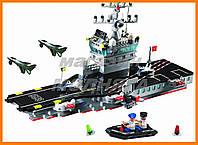 """Конструктор """"Авианосец"""" 508 деталей Brick"""