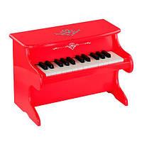 Музыкальная игрушка Viga Toys Первое пианино, красный (50947)