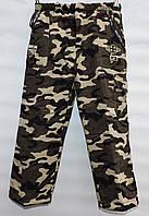 Утепленные камуфляжные брюки для мальчика 3-7 лет