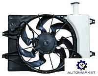 Диффузор (вентилятор) радиатора охлаждения Kia Cerato / Kia Forte (IV) 2018-