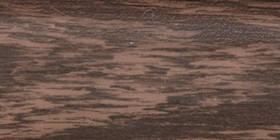 Плінтус підлоговий ПВХ з кабельканалом 004 Венге ТІС