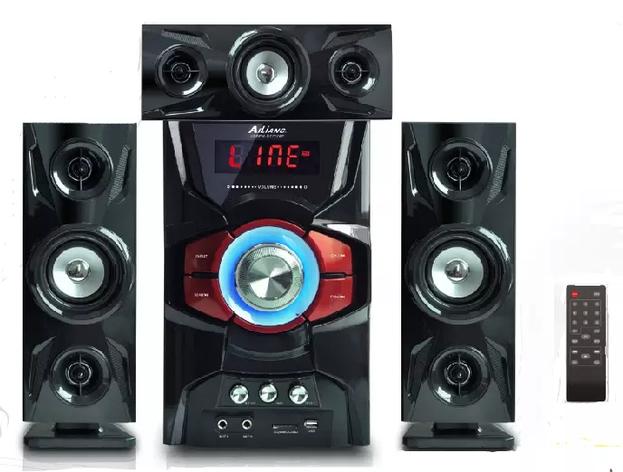 Акустична система 3.1 AiLiang USBFM-DC5306F-DT   Потужність 10Вт + 3Вт х3, фото 2
