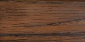 Плінтус підлоговий ПВХ з кабельканалом 0040 Горіх ТІС