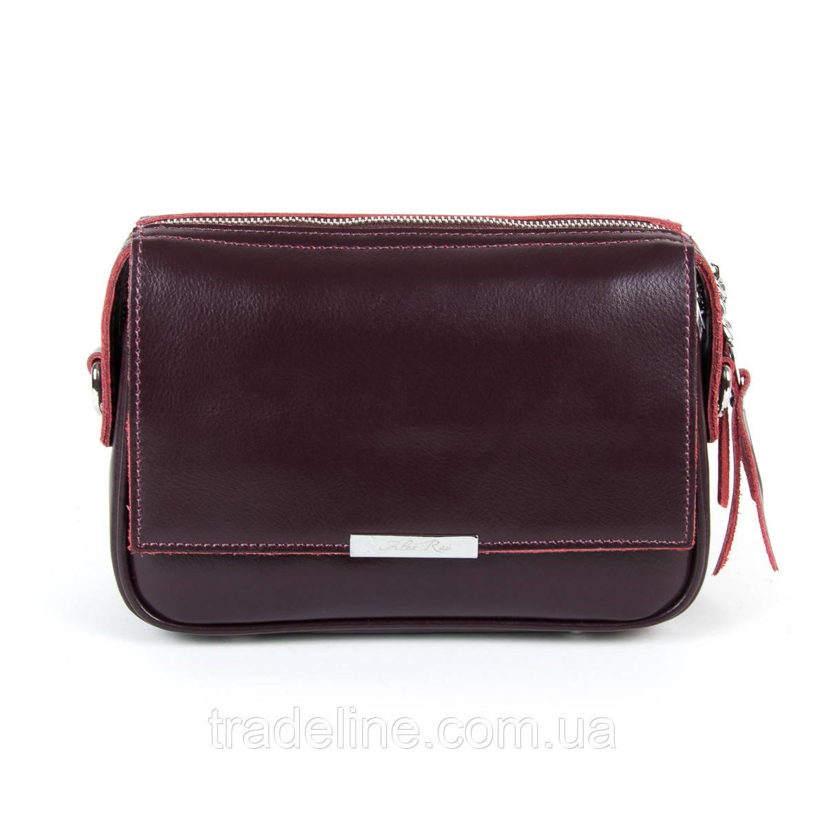 Сумка Женская Клатч кожа ALEX RAI 9-01 2227 burgundy