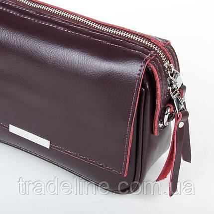 Сумка Женская Клатч кожа ALEX RAI 9-01 2227 burgundy, фото 2