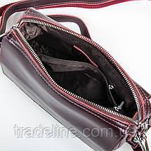 Сумка Женская Клатч кожа ALEX RAI 9-01 2227 burgundy, фото 3