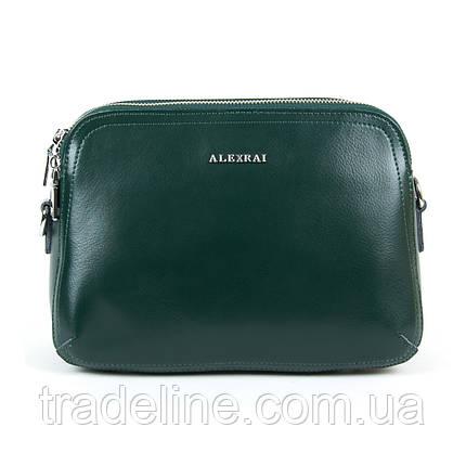 Сумка Женская Клатч кожа ALEX RAI 9-01 8725 green, фото 2