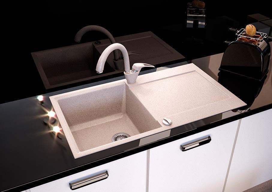 Кухонна мийка VALENTINA Gr Metra авена