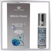 Арабские масляные духи AL Rehab White Musk, 6 мл