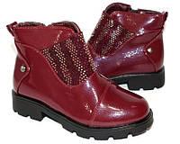 Осенние классические ботинки для девочки, фото 1