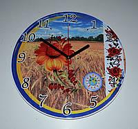 Годинник настінний Вишиванка 25 см