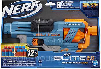 Бластер Нерф N-Strike NERF Elite 2.0 RD-6 Commander Командор